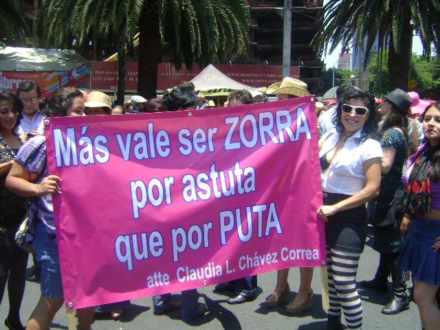Se desarrolla primera Marcha de Putas en México