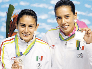 Jóvenes atletas mexicanas irán a Londres