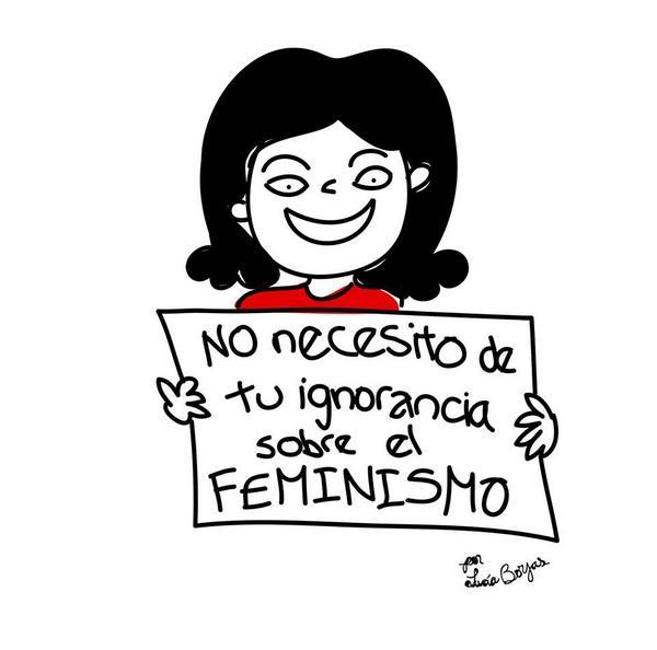 """Respuestas creativas a la campaña """"I don't need feminism"""""""