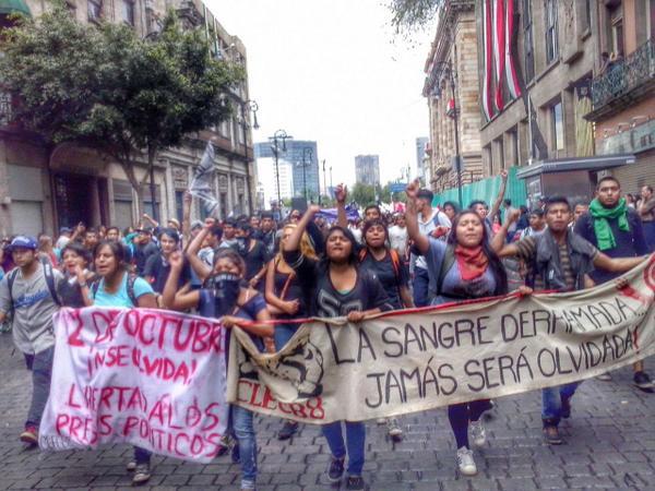 10 FOTOS de hoy, 2 de octubre en la Ciudad de México