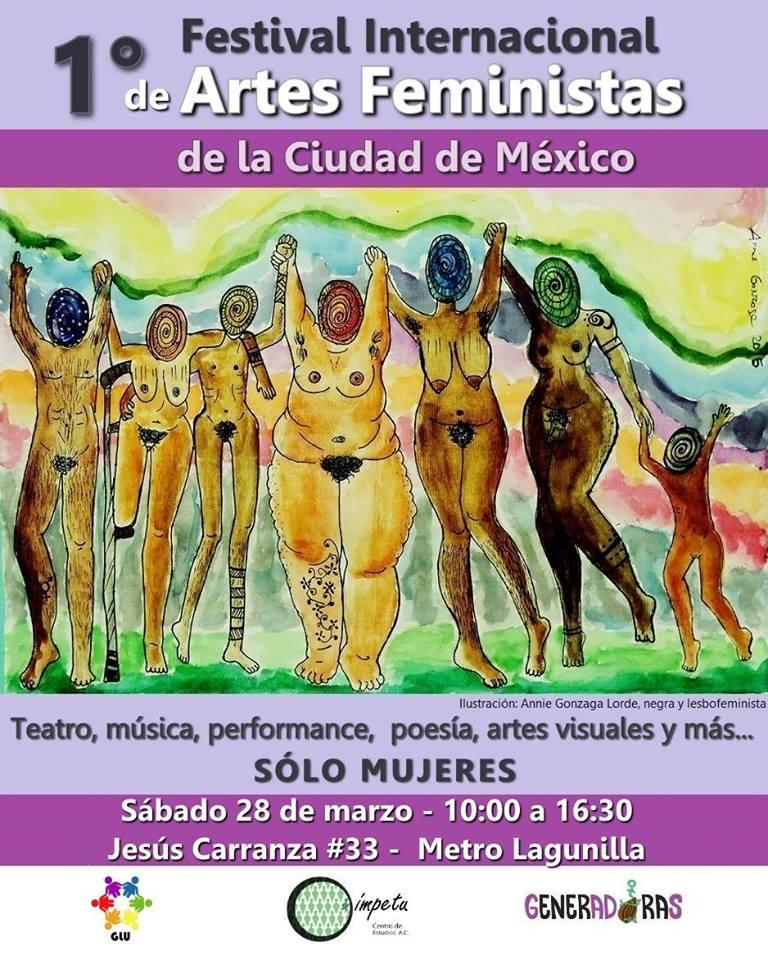 Se realizará Festival Internacional de Artes Feministas en el DF