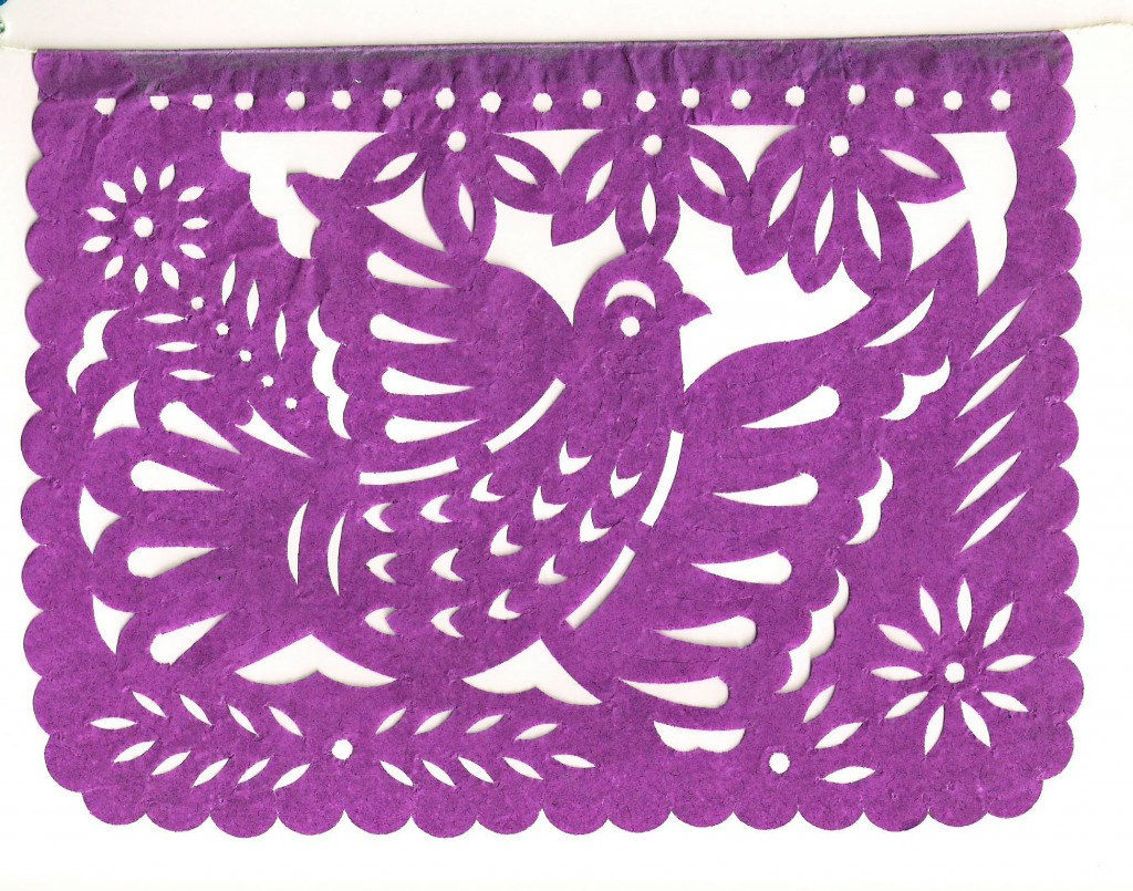 papel picado bird
