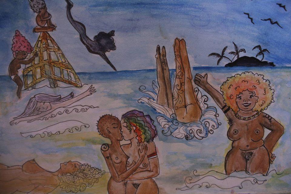 Ilustración autoría de Annie Gonzaga Lorde