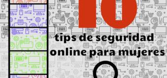 10 tips de seguridad online para mujeres