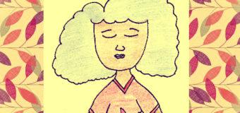 Pequeñísima guía ilustrada de posturas y ejercicios (simples) de Yoga contra el estrés