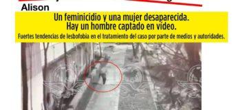 Un feminicidio y una mujer desaparecida