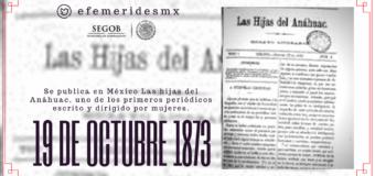 Las Hijas del Anáhuac: 145 años de una de las primeras publicaciones en México escrita por y para mujeres